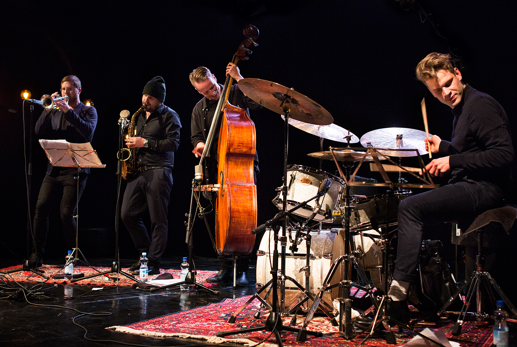 Amok Amor at We Jazz 2016 - photo by Maarit Kytöharju